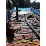 concreto bombeado para laje Vila Perequê