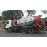 concreto fck 25 para composição Água Branca