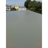 concreto para a laje Rio Pequeno
