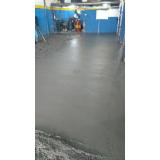 concretos para pisos de garagens Vila Sônia