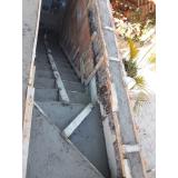empresa de concreto armado laje maciça Jardim Santa Emília