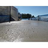 empresa de concreto para laje de isopor Água Branca